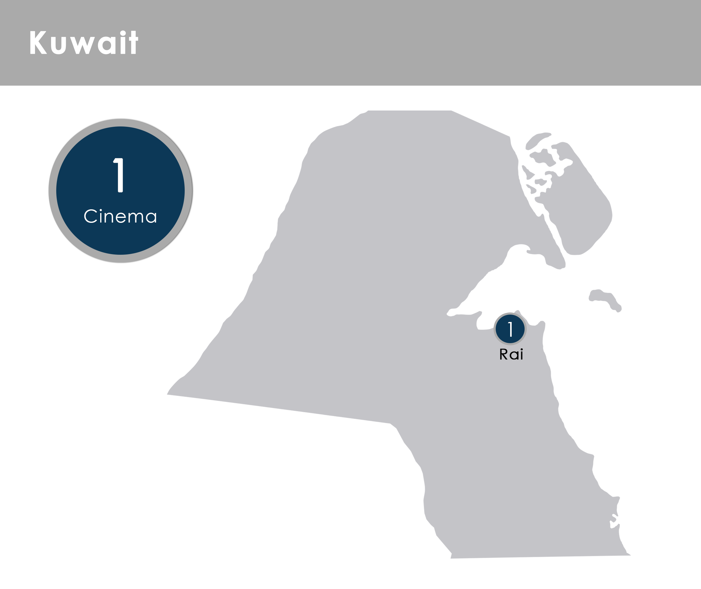 Motivate Val Morgan Kuwait Cinemas - Map