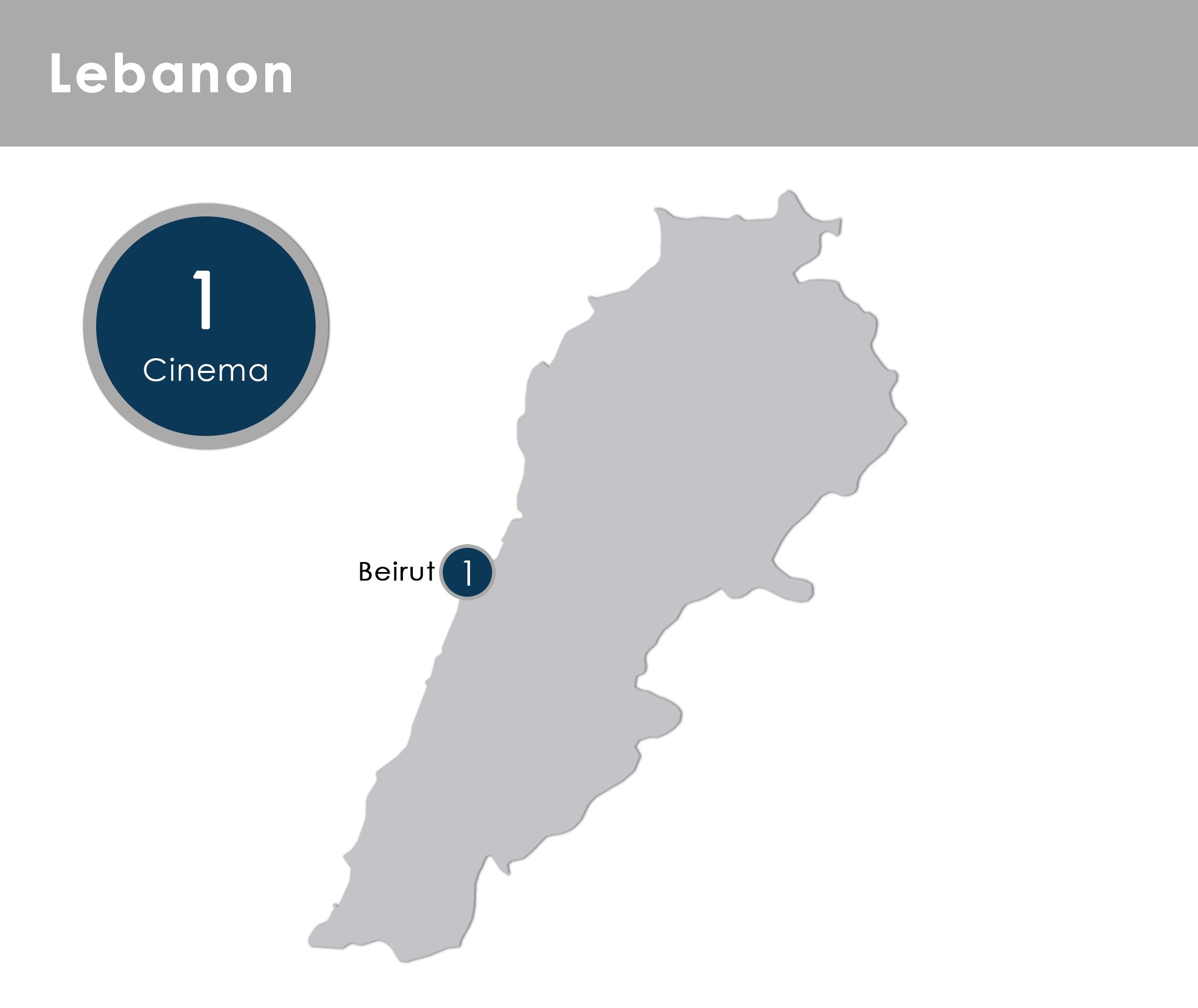 Motivate Val Morgan Lebanon Cinemas - Map