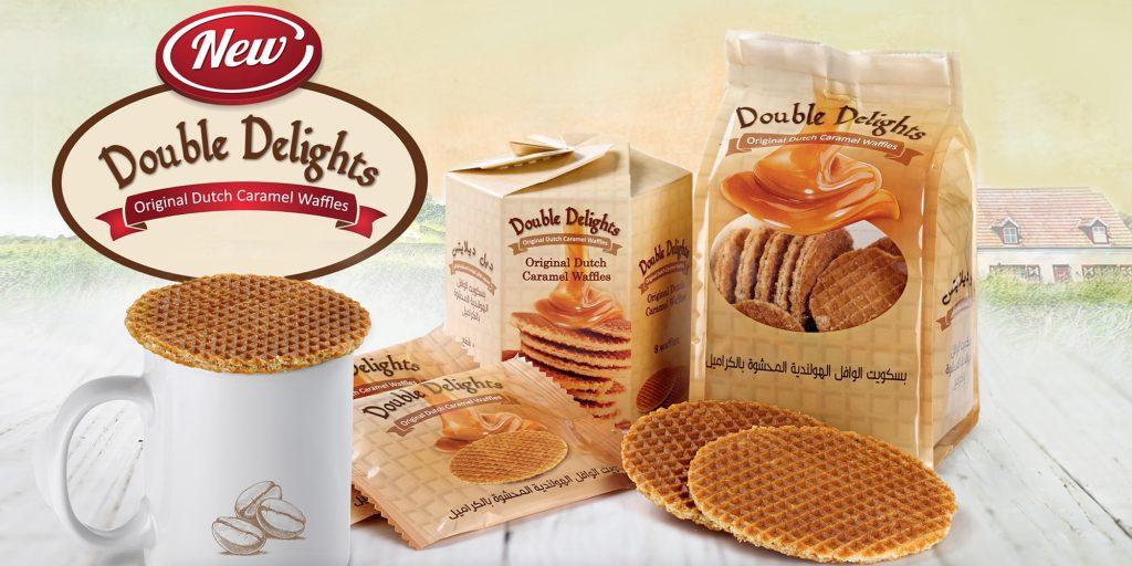 Double Delights - Original Dutch Caramel Waffles