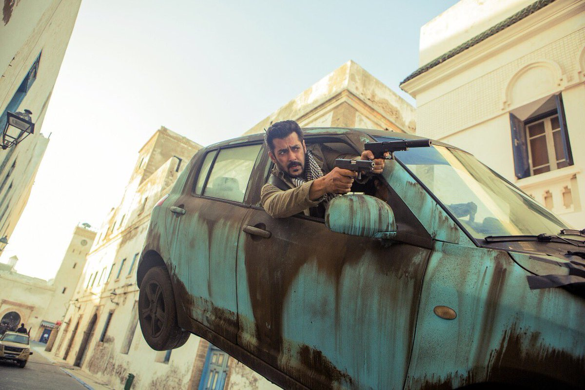 Tiger Zinda Hai Shoot in Abu Dhabi
