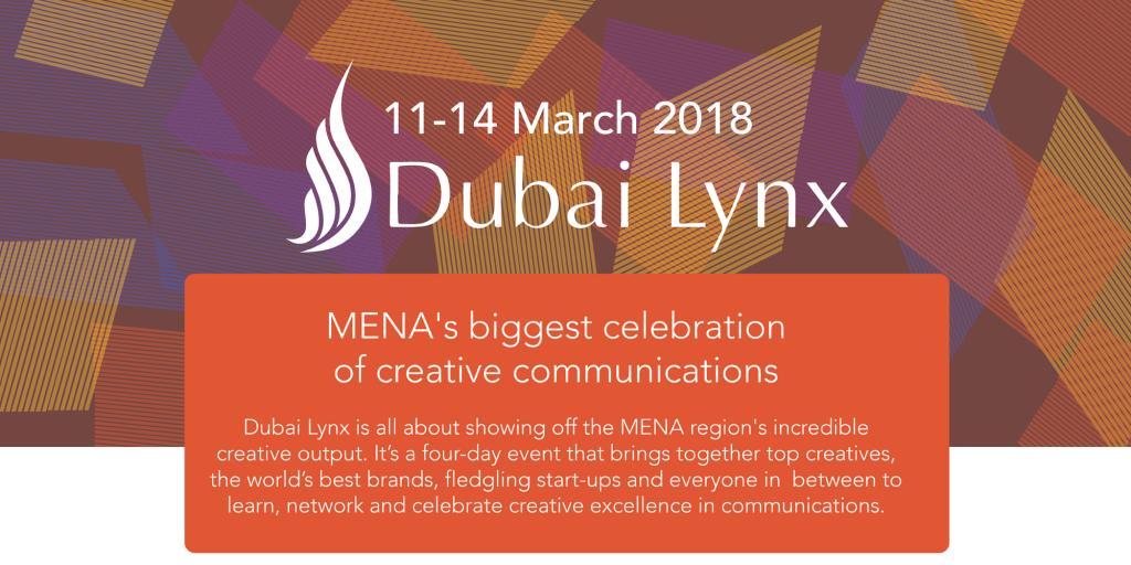 Dubai Lynx 2018 Festival Programme Announced