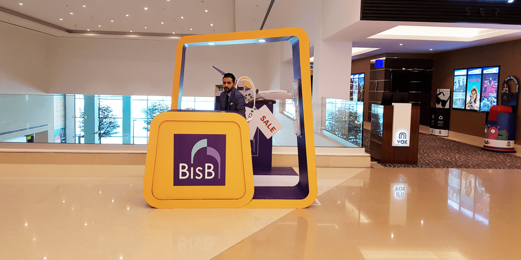 BisB Activation Stand   VOX Cinemas   The Avenues Mall   Bahrain