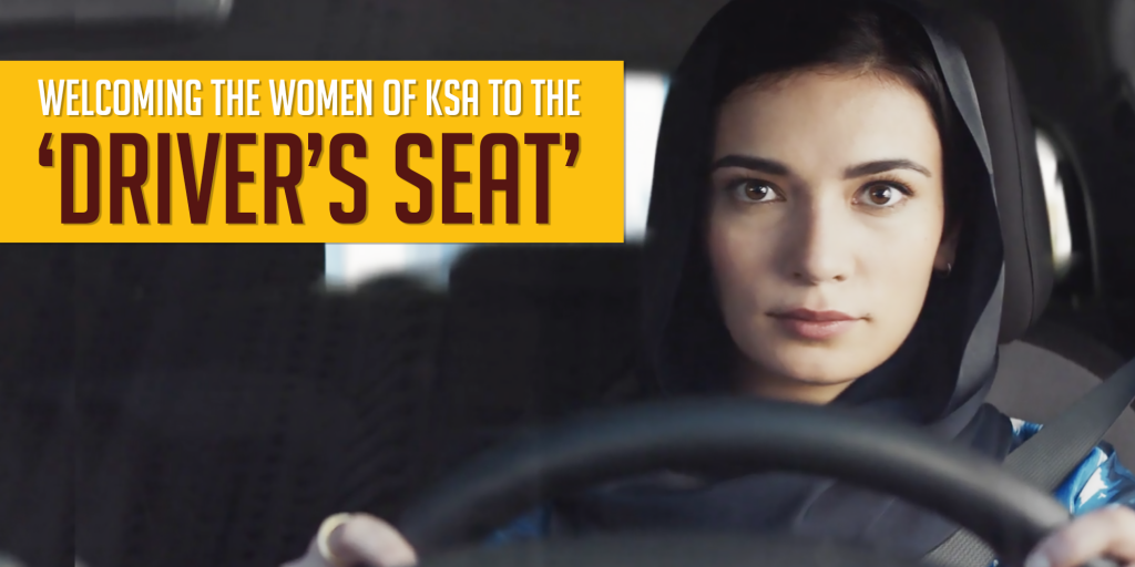 Audi and Hyundai Welcome the Women of KSA to the Driver's Seat