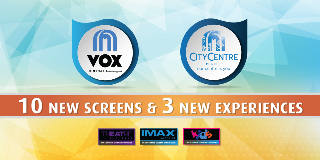 VOX Cinemas City Centre Mirdif Launches 10 New Screens