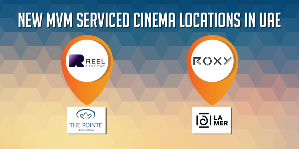 Reel and ROXY Cinema locations in UAE