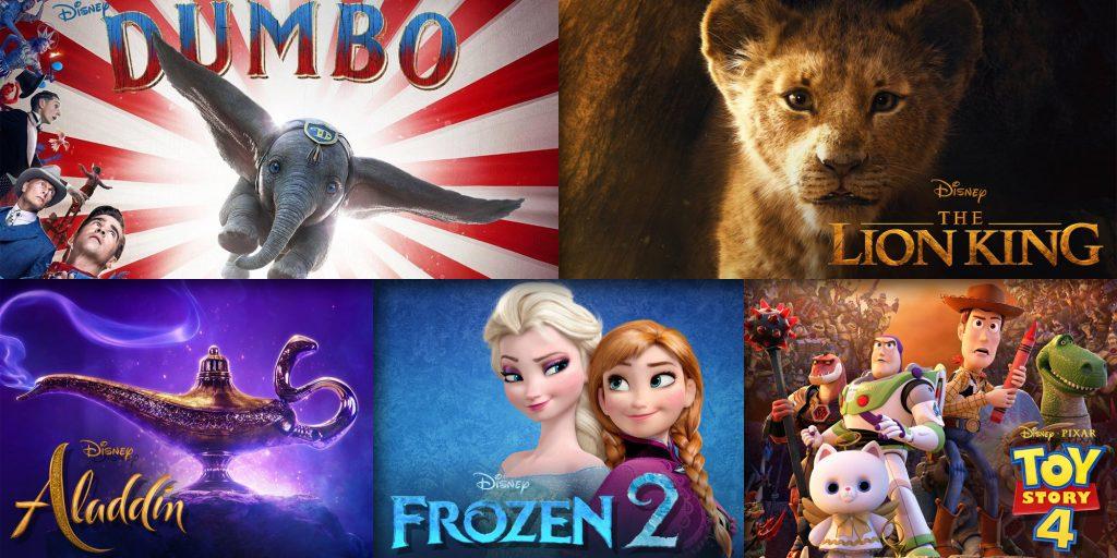 Disney Blockbusters in 2019