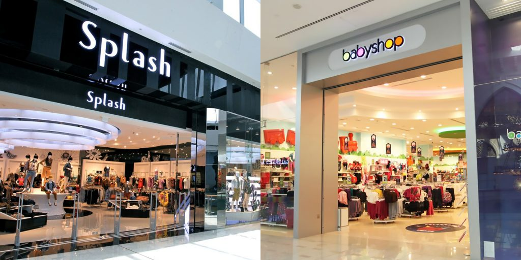 Splash and Babyshop Cinema Pillar Branding