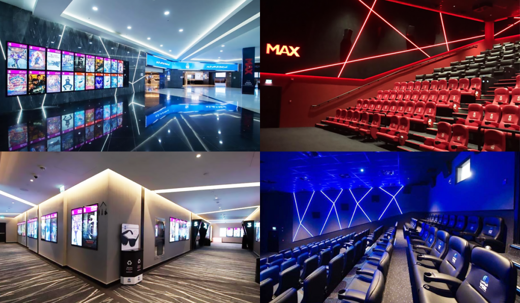 A look inside VOX Cinemas - Al Qasr Mall in Riyadh