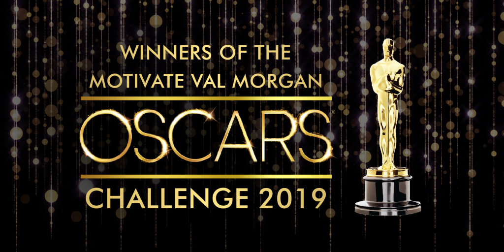 Motivate Val Morgan Oscars Challenge 2019 Winners