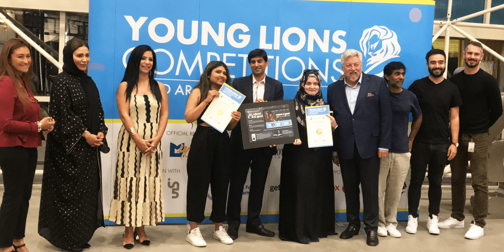 Gold Winners of the UAE Young Lions Digital Competition 2019