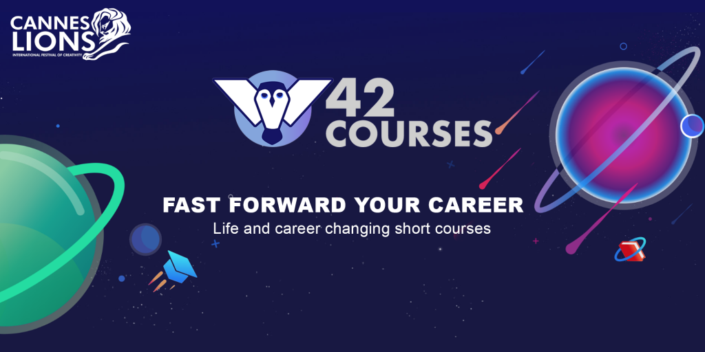 Cannes Lions 42courses - Online Learning