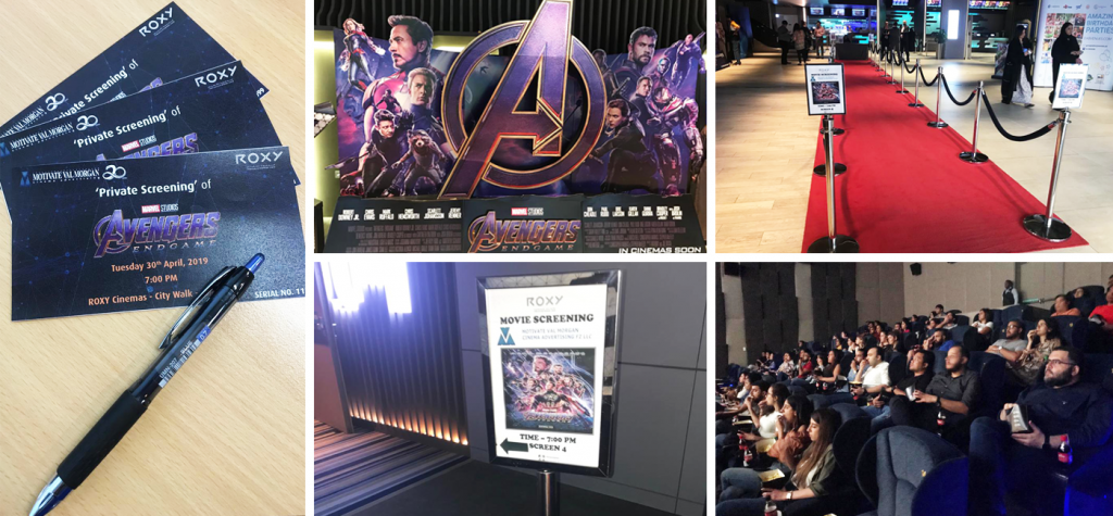 Private Screening of Avengers: Endgame at Roxy Cinemas