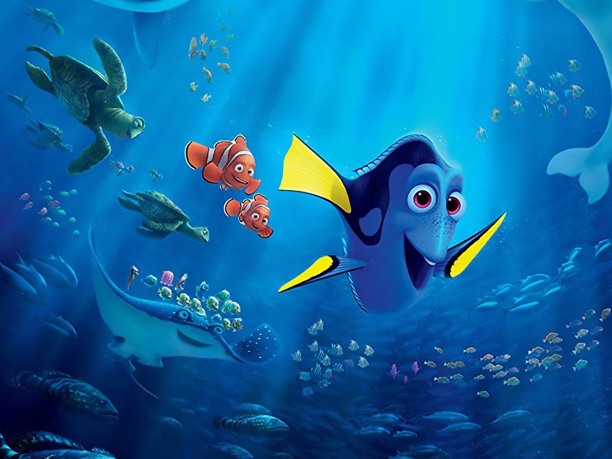 Disney Finding Dory 2016