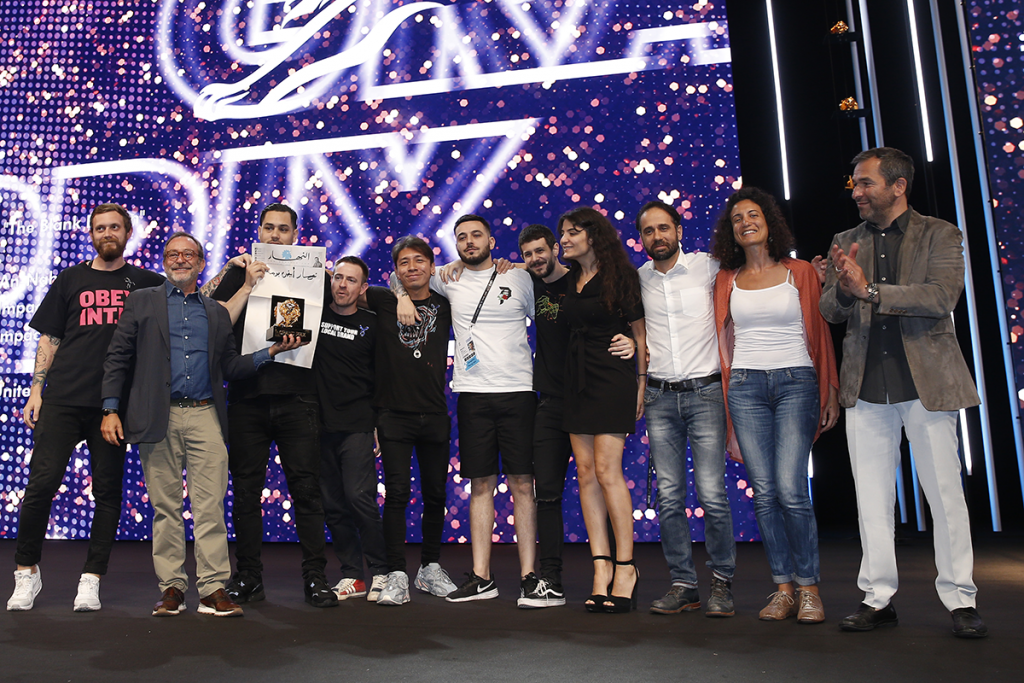 Impact BBDO Dubai Received Grand Prix on Stage at Cannes Lions 2019