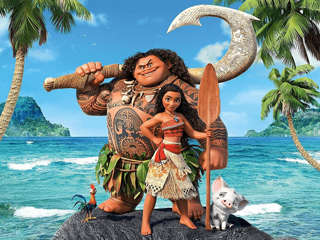 Disney's Moana 2016