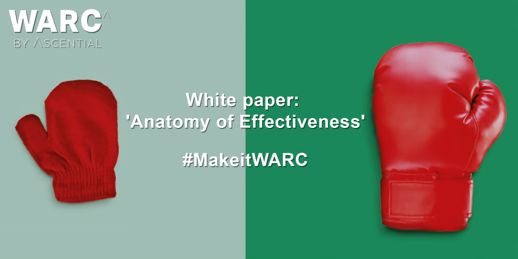 The New White Paper by WARC - Anatomy of Effectiveness