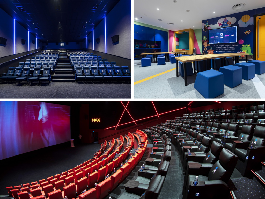 Check out the new VOX Cinemas at West Avenue Mall in Dammam