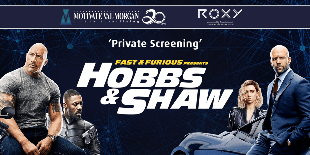 Private Screening by Motivate Val Morgan at Roxy Cinemas