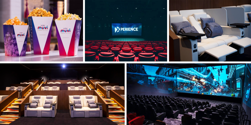 A look at Muvi Cinemas - Mall of Arabia