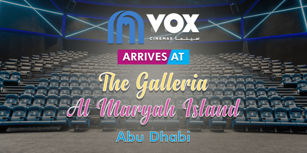 New location of VOX Cinemas in Abu Dhabi