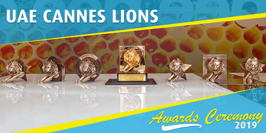 UAE Cannes Lions Awards Ceremony 2019