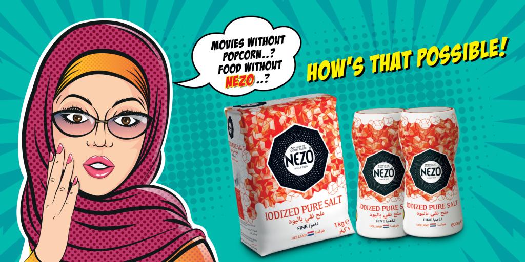 Nezo   Popcorn Box Branding   UAE