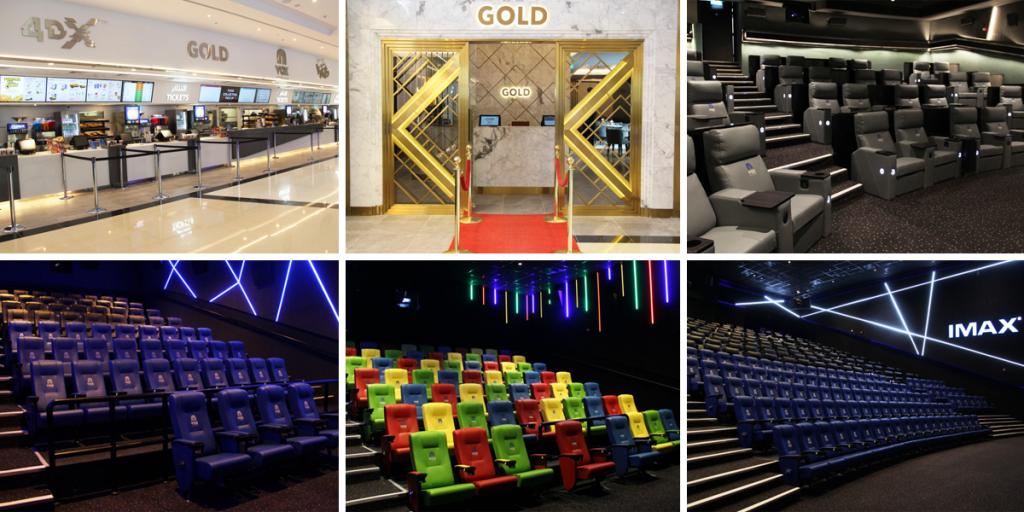 Inside View of VOX Cinemas - City Centre Almaza in Egypt