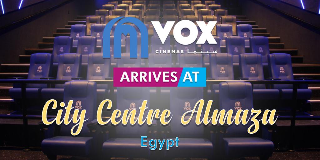 VOX Cinemas Opens at City Centre Almaza in Egypt