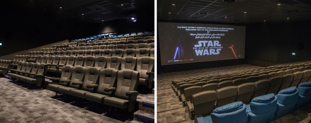 Muvi Cinemas Now at Al Hamra Mall in KSA