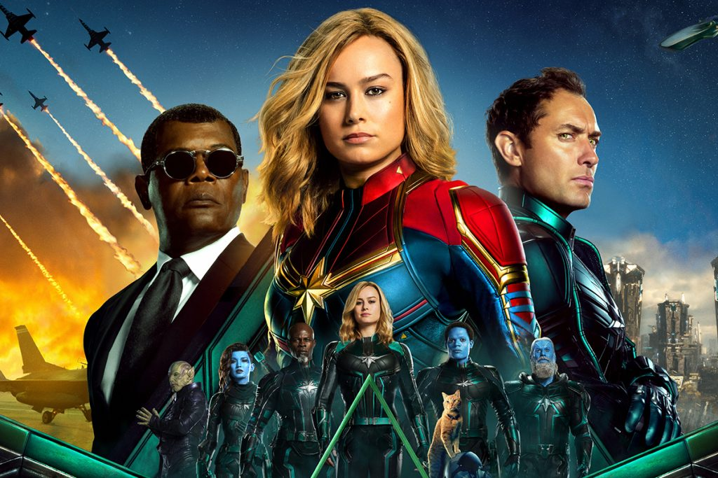 Captain Marvel 4DX