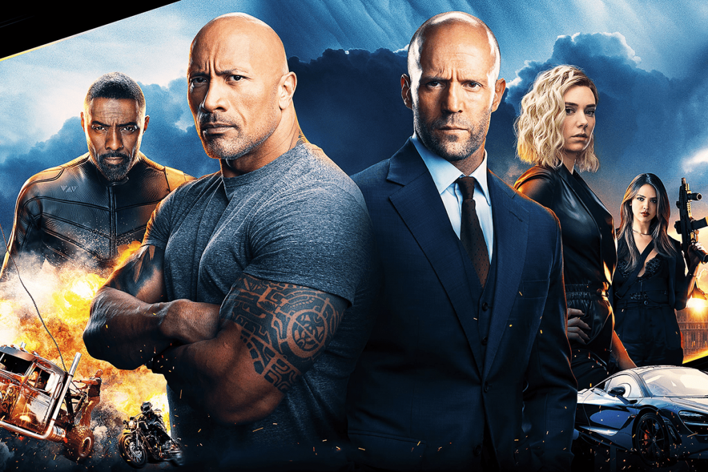 Fast & Furious Presents- Hobbs & Shaw 4DX