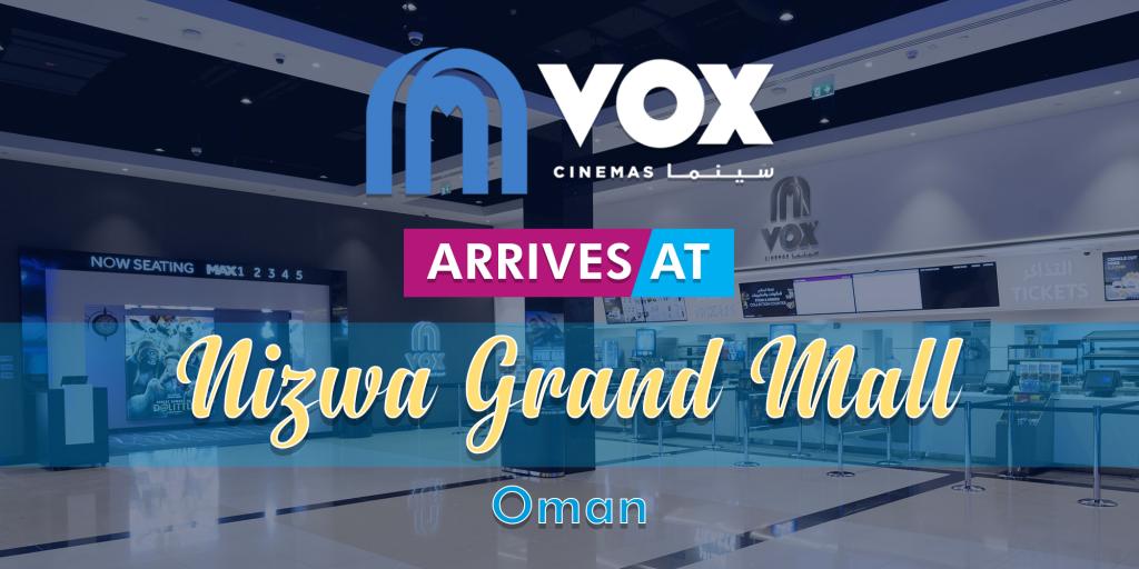 VOX Cinemas at Nizwa Grand Mall Oman