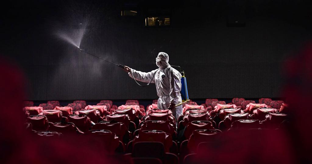 Cinema in China during the coronavirus pandemic