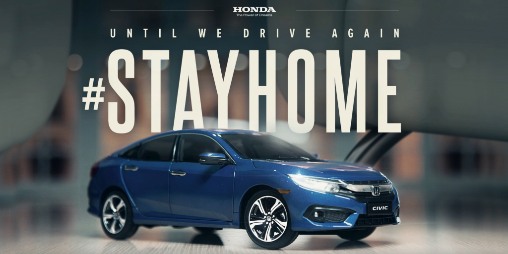 #StayHome Commercial Made at Home by Honda
