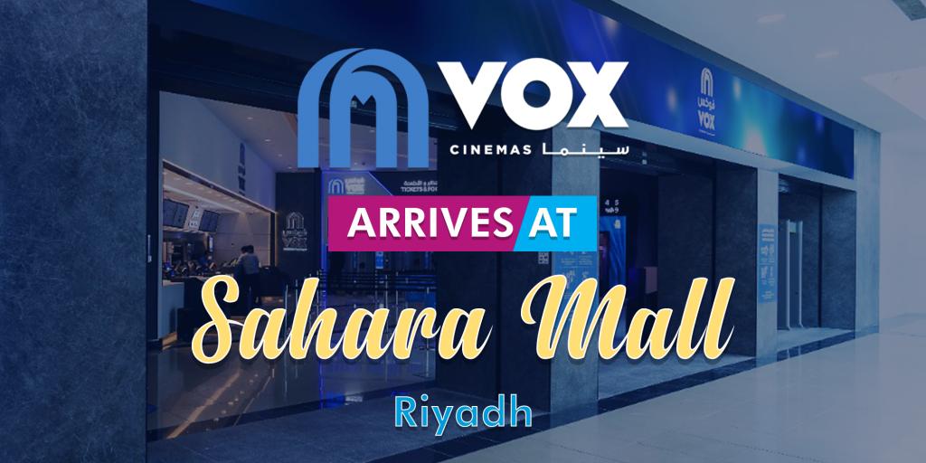 VOX Sahara Mall opens in Saudi Arabia