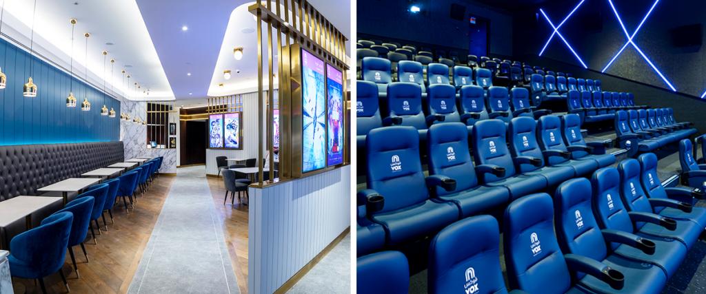 A look inside VOX Cinemas Sahara Mall in KSA