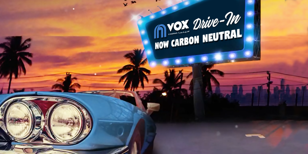 Carbon neutral drive-in movie screenings by VOX