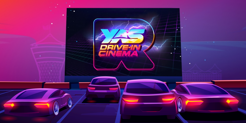 Abu Dhabi's first drive-in cinema by Reel