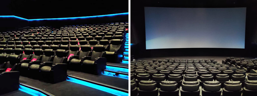 Dolby Cinema Screen at Muvi Cinemas in U-Walk