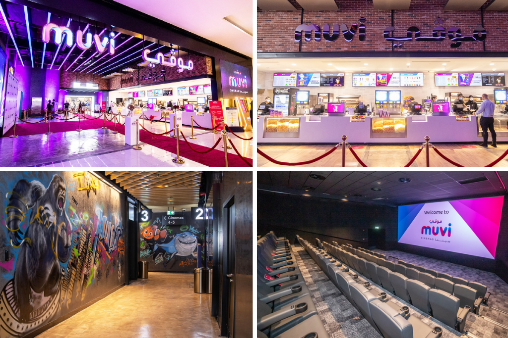 Muvi Cinemas at KSA's Jubail Mall