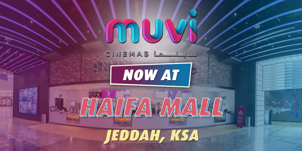 Muvi Cinemas Launches at Haifa Mall in Jeddah