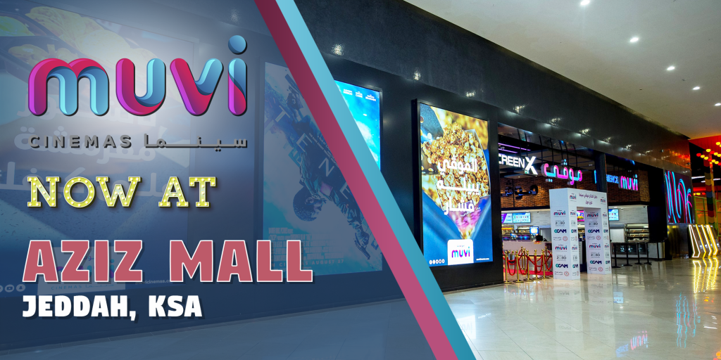 Muvi Cinemas Opens at Aziz Mall in KSA