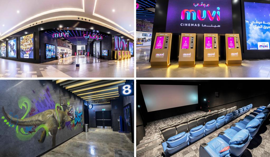 A look inside the Muvi cinema at Haifa Mall in Jeddah