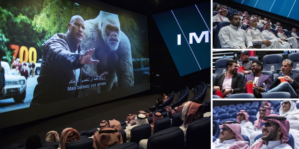 Saudi Arabia is the Top Theatrical Market in the Middle East despite COVID-19
