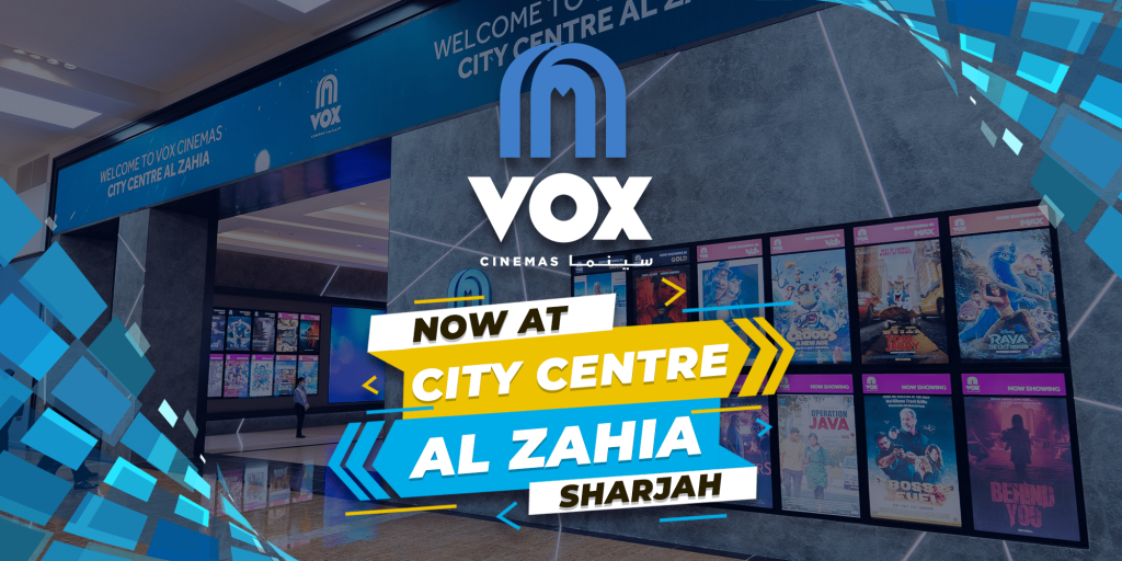 VOX Cinemas Launches at City Centre Al Zahia in Sharjah