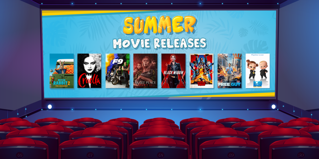 Summer Movies Releases in 2021
