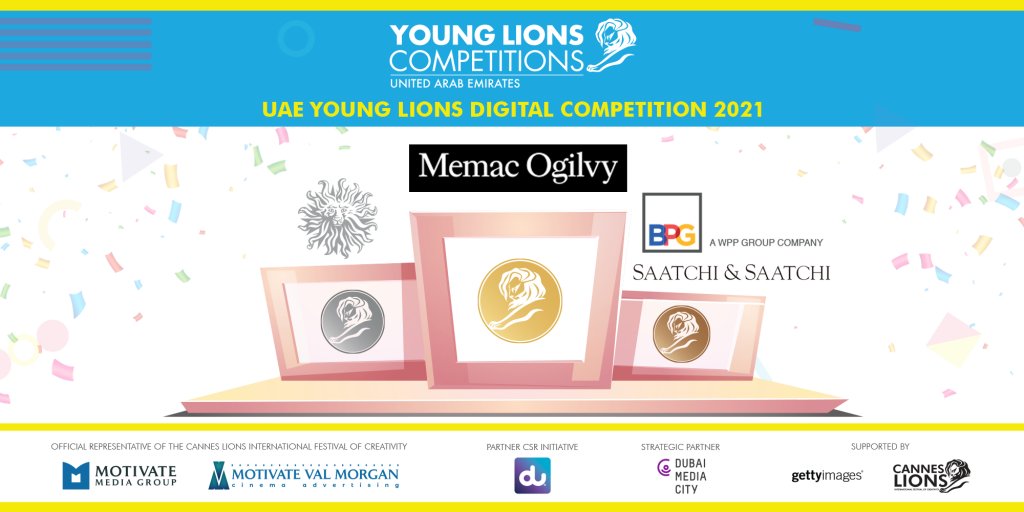 Memac Ogilvy Wins Gold at the UAE Young Lions Digital Competition 2021