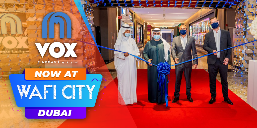 New VOX Cinemas Location Launched at Wafi City, Dubai in UAE