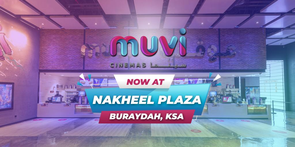 Muvi Cinemas Opens at Nakheel Plaza Buraydah in Saudi Arabia