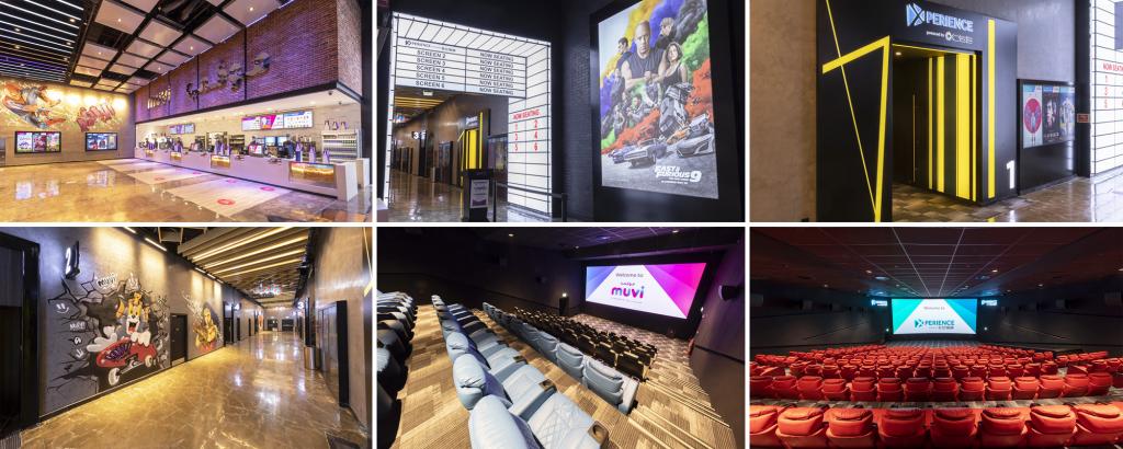 Muvi Cinemas Now at at Nakheel Plaza Buraydah in Saudi Arabia